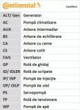 Curea de distributie CONTITECH CT1088 Skoda Octavia (1Z3) Golf 5 (1K1) Golf Plus (5M1, 521) Eos (1F7, 1F8) Octavia Combi (1Z5) Golf 6 (5K1) Toledo 3 (