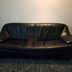 Set canapea cu 2 fotolii piele naturala Ovo Design