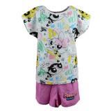 Pijama de vara fete E Plus M Powerpuff PPG 52 04 004, Multicolor