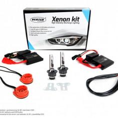 Kit complet instalatie Xenon H1, Vertex, 8000K, 35W