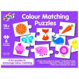 Set de 6 puzzle-uri Lumea culorilor Galt, 18 luni+