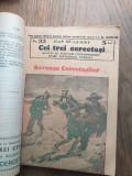 CEI TREI CERCETASI, 32-39/ 41-50 //// FASCICOLE INTERBELICE, PLINE DE AVENTURI