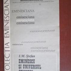 Colectia eminesciana 47- Eminescu si universul stiintei