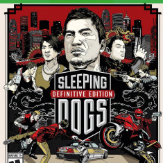 Joc consola Square Enix Sleeping Dogs Definitive Limited Edition - XBOX ONE