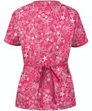 "Bluza medicala ""Sea Party Fuchsia"" (WT668SFU)"