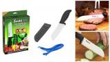 Set ceramic cutit si dispozitiv pentru cojire Yoshi Blade