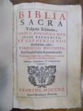 Biblia Sacra Vulgatae Editionis Sixti Pontificis Max, Venetiis 1720