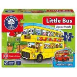 Puzzle fata verso Autobuz (12 piese) LITTLE BUS, orchard toys