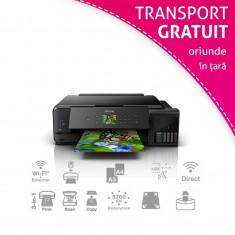Multifunctionala Epson L7180, Wi-Fi, A3 color, CISS, slotSD, duplex automat