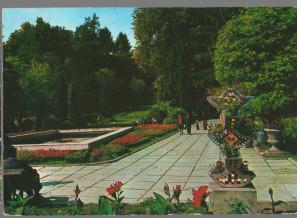 CPIB 15369 - CARTE POSTALA - GOVORA, VEDERE DIN PARCUL