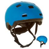 Cască Role/Skate/Trotinetă B 100 Albastru, Oxelo