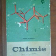 Chimie. Manual pentru anul 4 liceu-C.D.Nenitescu
