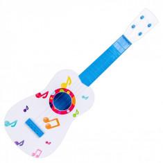 Chitara de jucarie, 60 cm, multicolor