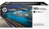 Cartus Black XXL PageWide Nr.981Y L0R16A Original HP PageWide Enterprise 556DN