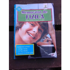 MEMORATOR DE FIZICA, SUPORT PENTRU INVATAREA LECTIILOR - GABRIELA MIHALACHE