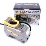 Compresor aer premium cu manometru digital 12v. cod: 8666
