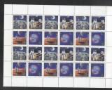 Russia 1989 Space in block x 6 MNH DC.060