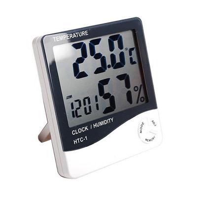 Termometru cu afisarea temperaturii si a umiditatii HTC-1, functie alarma foto