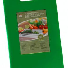 Tocator profesional bucatarie polietilena 46x30x1,2cm culoare verde MN0198482 Raki