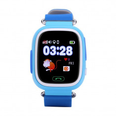 Wonlex GW100 Ceas inteligent copii, functie telefon, touchscreen, GPS+AGPS+LBS+WiFi, buton SOS (+ bratara fitness CrabTECH™)
