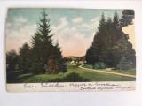 Carte postala veche vedere Brasov Brasso Kronstadt 1904 , circulata