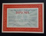 Diploma 1963 Spartachiada tineretului - sport - RPR