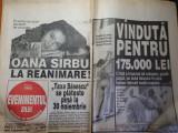 Evenimentul zilei 2 septembrie 1997-art oana sirbu,lady diana,anca toader