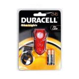 Lampa spate pentru bicicleta Duracell EDC 0914, culoare rosie, 3 led-uri, 2 x AAA Mania Tools