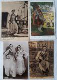 Cumpara ieftin 4 CARTI POSTALE ANTEBELICE - PORT POPULAR ALBANEZ, Ambele, Europa