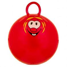 Jucarie gonflabila pentru copii, model minge cu maner, rosu, 45 cm