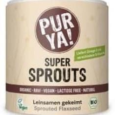 Super Sprouts semințe de in germinate raw bio 200g