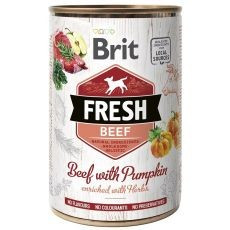 Can Brit Fresh Beef with Pumpkin 400 g