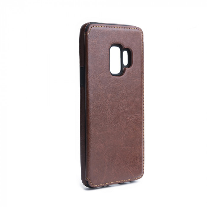 Husa SAMSUNG Galaxy S9 -Forcell Wallet (Maro)