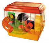 Cusca hamsteri cu tub accesorii Allegra - cm 43x30x40 h - 7636.8