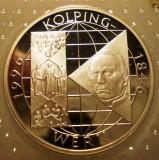 10.002 GERMANIA RFG KOLPINGWERK 10 DEUTSCHE MARK 1996 A PROOF ARGINT 15,5g, Europa
