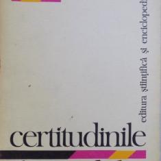 CERTITUDINILE HAZARDULUI de MARCEL BOLL , 1978