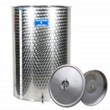 Cisterna inox cu capac flotant cu ulei Marchisio SPO200B, 200 litri, 650x650 mm