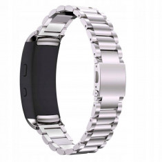 Curea otel inoxidabil Tech-Protect Stainless Samsung Gear Fit 2/Fit 2 Pro Silver