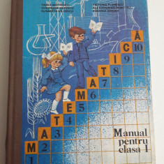 manual vechi matematica cl.I. 1994