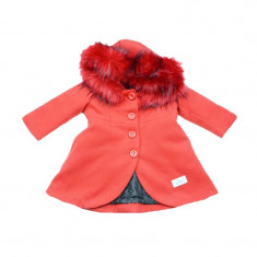 Palton pentru bebelusi Umbo GPB-12, Rosu
