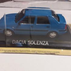macheta dacia solenza deagostini masini de legenda romania - 1/43, noua.
