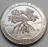 25 cents / quarter dollar 2020 USA, Salt River Bay, US Virgin Islands, lit. D, America de Nord