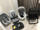 Carucior 3 in 1 peg perego book plus + baza isofix