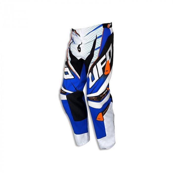 Pantaloni motocross Ufo Voltage, albastru/portocaliu, 32 Cod Produs: MX_NEW PI04377CW50