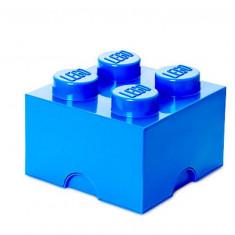 Cutie depozitare LEGO 2x2 - Albastru inchis