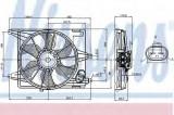 Ventilator, radiator DACIA SANDERO (2008 - 2016) NISSENS 85708