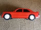 mercedes masinuta plastic auto moto masina jucarie de colectie culoare rosie