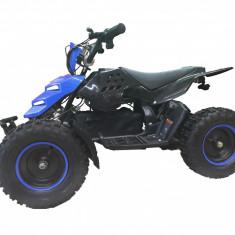 "Atv Electric KXD M5E 800W , 36V , Roti 6"" Culoare Negru/Albastru Cod Produs: MX_NEW 6072B"