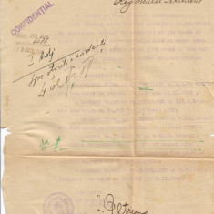 Act vechi Divizia 1 Infanterie militar
