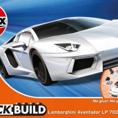 QUICKBUILD Lamborghini Aventador - White - Snap Fit